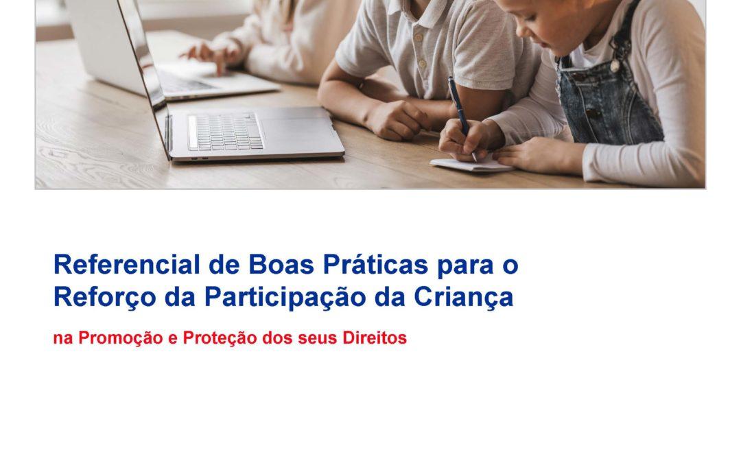 Referencial de Boas Práticas para o Reforço da Participação da Criança (2021)