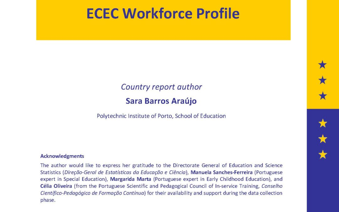 Portugal ECEC Workforce Profile (SEEPRO-R, 2017)