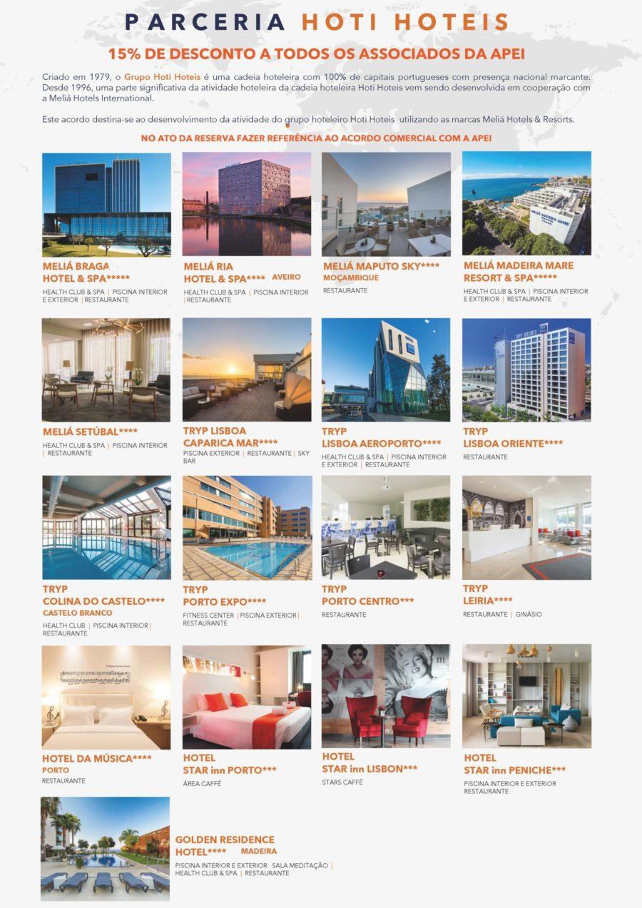 Hoti Hotéis - descontos em hotéis