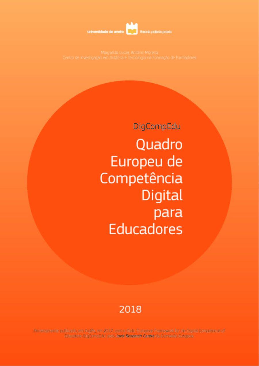 Quadro Europeu de Competência Digital para Educadores (2018)